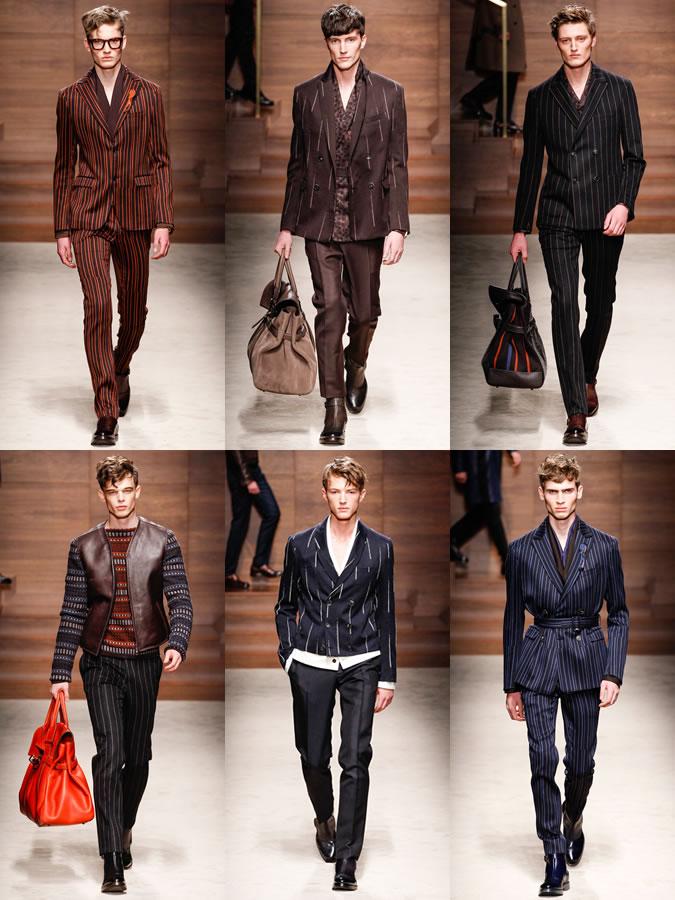 0ef377e9790 Men s Autumn Winter 2014 Fashion Trend  Patterned Suits – Magazine